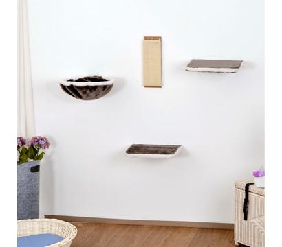 silvio design katzen kletterwand 4 teilig dehner garten. Black Bedroom Furniture Sets. Home Design Ideas