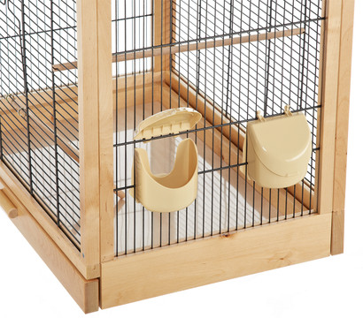 skyline vogelhaus antonia schwarz natur dehner garten. Black Bedroom Furniture Sets. Home Design Ideas