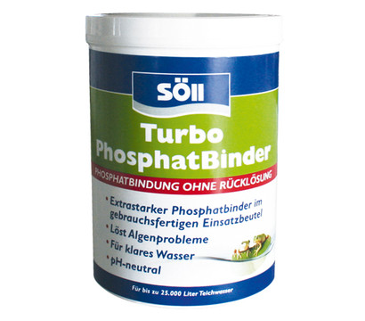 Söll Turbo Phosphatbinder, Algenmittel, 600 g