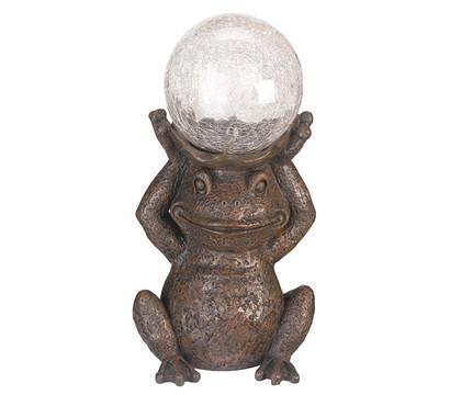 Solar-Frosch mit Glaskugel