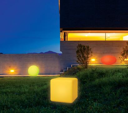 solarkugel mit farb led 30 cm dehner garten center. Black Bedroom Furniture Sets. Home Design Ideas