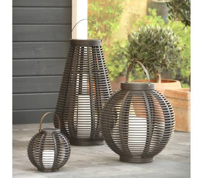 solarlaterne rattan 20 cm dehner garten center. Black Bedroom Furniture Sets. Home Design Ideas
