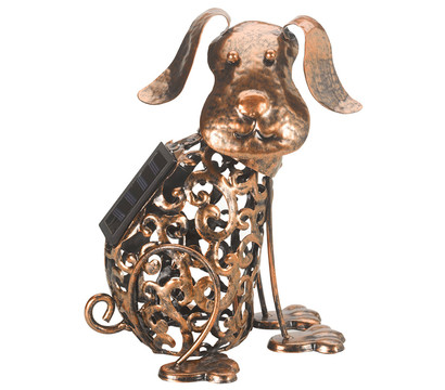 Solar-Silhouette Hund 'Stupsi'