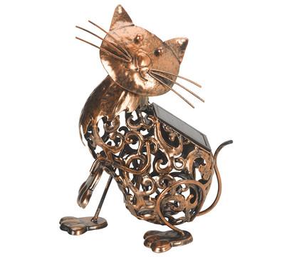Solar-Silhouette Katze 'Minka'