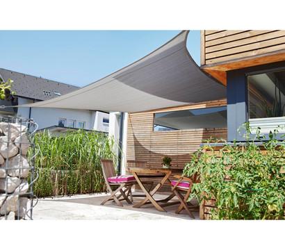sonnensegel sunsail adria quadrat 5 x 5 m dehner garten center. Black Bedroom Furniture Sets. Home Design Ideas
