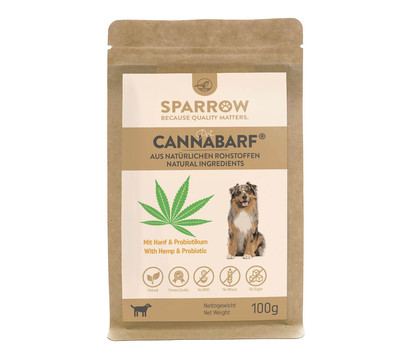 SPARROW Ergänzungsfutter CannaBarf® für Hunde