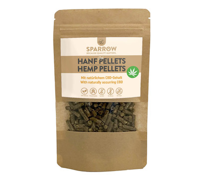 SPARROW Pet Nagersnack Hanfpellets