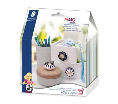 Staedtler Modelliermasse Fimo Soft, DIY-Set Möbelknauf