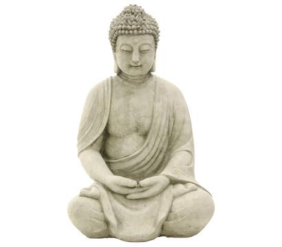 stein buddha sitzend schlank grau dehner garten center. Black Bedroom Furniture Sets. Home Design Ideas