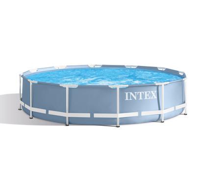 Steinbach frame pool set prism rondo 366 x 76 cm for Garten pool 366