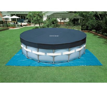 Steinbach frame pool set prism rondo 457x122 cm for Garten pool 457x122