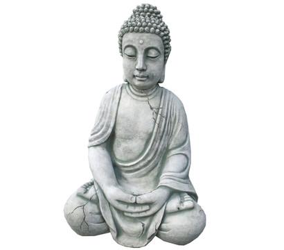 Stein-Buddha, 33 x 26 x 50 cm