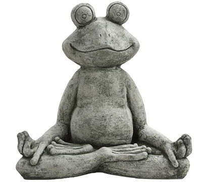 Stein-Frosch Joga, 30 x 53 x 50 cm