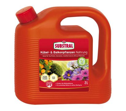 Substral® Kübel- und Balkonpflanzen Nahrung, 2 l