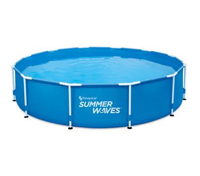 Summer Waves Frame Pool Blau