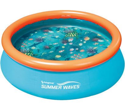 Summer Waves Ringpool 3D Quick Set