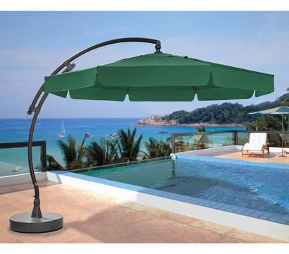 sun garden ampelschirm easy sun 350 cm anthrazit gr n. Black Bedroom Furniture Sets. Home Design Ideas