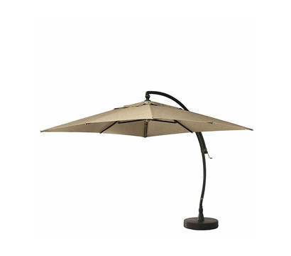 sun garden ampelschirm easy sun kd 320x320 cm anthrazit. Black Bedroom Furniture Sets. Home Design Ideas