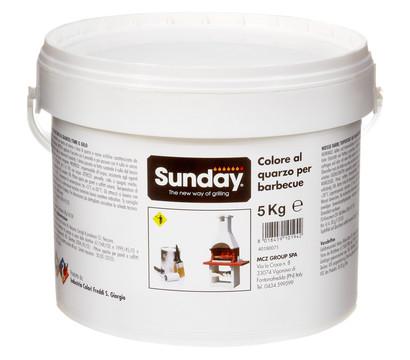 sunday putzfarbe f r gartenkamine wei 5 kg dehner. Black Bedroom Furniture Sets. Home Design Ideas