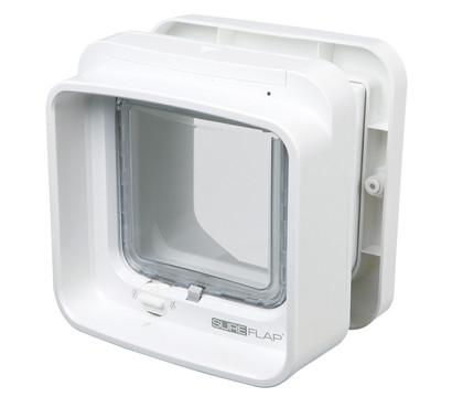 SureFlap DualScan Katzenklappe mit Mikrochiperkennung, 21 x 21 cm