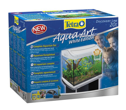 Tetra AquaArt Aquarium-Set 20 l, weiß