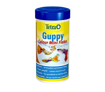 Tetra Fischfutter Guppy Colour Mini Flakes