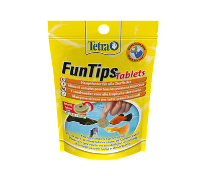 Tetra FunTips Tablets Futtertabletten, 20 Stück