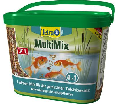 Tetra pond multimix futter mix 7 liter dehner for Was fressen teichfische