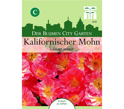 Thompson & Morgan Samen Kalifornischer Mohn 'Summer Sorbet'