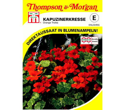 Thompson & Morgan Samen Kapuzinerkresse 'Orange Troika'