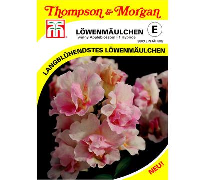 Thompson & Morgan Samen Löwenmäulchen 'Twinny Appleblossom'
