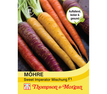 Thompson & Morgan Samen Möhre 'Sweet Imperator Mischung F1'