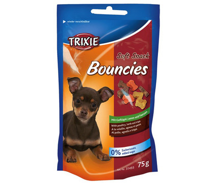 Trixie Bouncies Soft, Hundesnack, 75g
