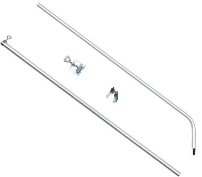 Trixie Geländerklemme mit Teleskopstange für den Balkon
