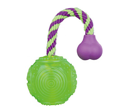 Trixie Hundespielzeug Ball am Seil, 5,5 cm