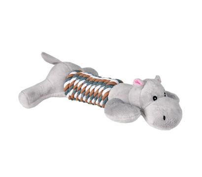 Trixie Hundespielzeug Figur mit Tau, 2 Figuren, 32 cm