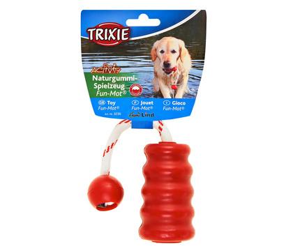 Trixie Hundespielzeug Fun-Mot aus Naturgummi, 9 cm