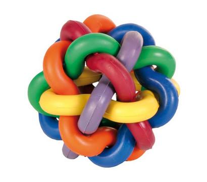 Trixie Hundespielzeug Knotenball, 7 cm
