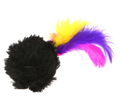 Trixie Katzenspielzeug Plüschball, 4 cm