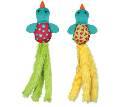 Trixie Katzenspielzeug Plüschvogel