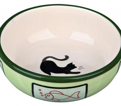 Trixie Keramiknapf für Katzen, 0,35 Liter