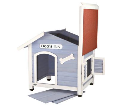 Trixie Natura Hundehütte Dog's Inn mit Satteldach