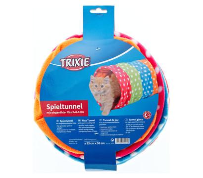 Trixie Spieltunnel für Katzen, bunt