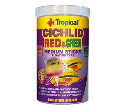 Tropical® Fischfutter Cichlid Red & Green Medium Sticks