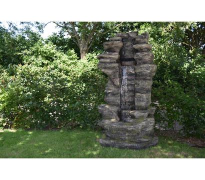 Ubbink Polyresin-Gartenbrunnen Cleveland, 91 x 70 x 180 cm