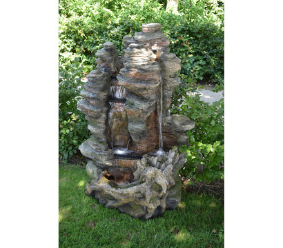 Ubbink Polyresin-Gartenbrunnen Miami, 106 x 83 x 157 cm
