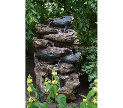 Ubbink Polyresin-Gartenbrunnen Oakland, 90 x 68 x 152 cm