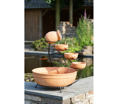 ubbink terrakotta gartenbrunnen large 51 x 60 cm dehner garten center. Black Bedroom Furniture Sets. Home Design Ideas