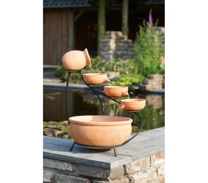 Ubbink Terrakotta-Gartenbrunnen Small, 42 x 42 x 60 cm