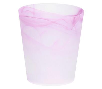 Übertopf aus Glas, rund, Ø 13,5 cm